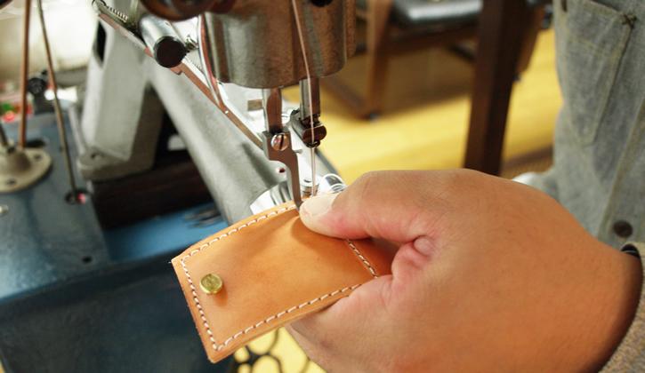 革製リングケース制作工程4