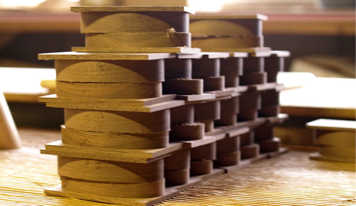 木製リングケース制作工程1