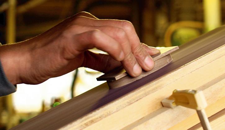 木製リングケース制作工程2