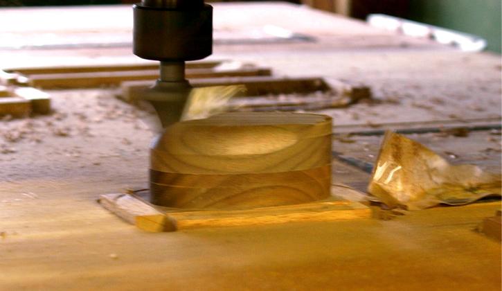木製リングケース制作工程4