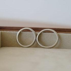 メンテナンス前の指輪